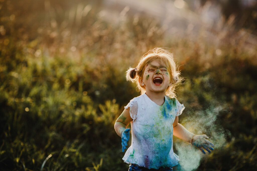 Learning How to Live in the Moment from a Child's Perspective